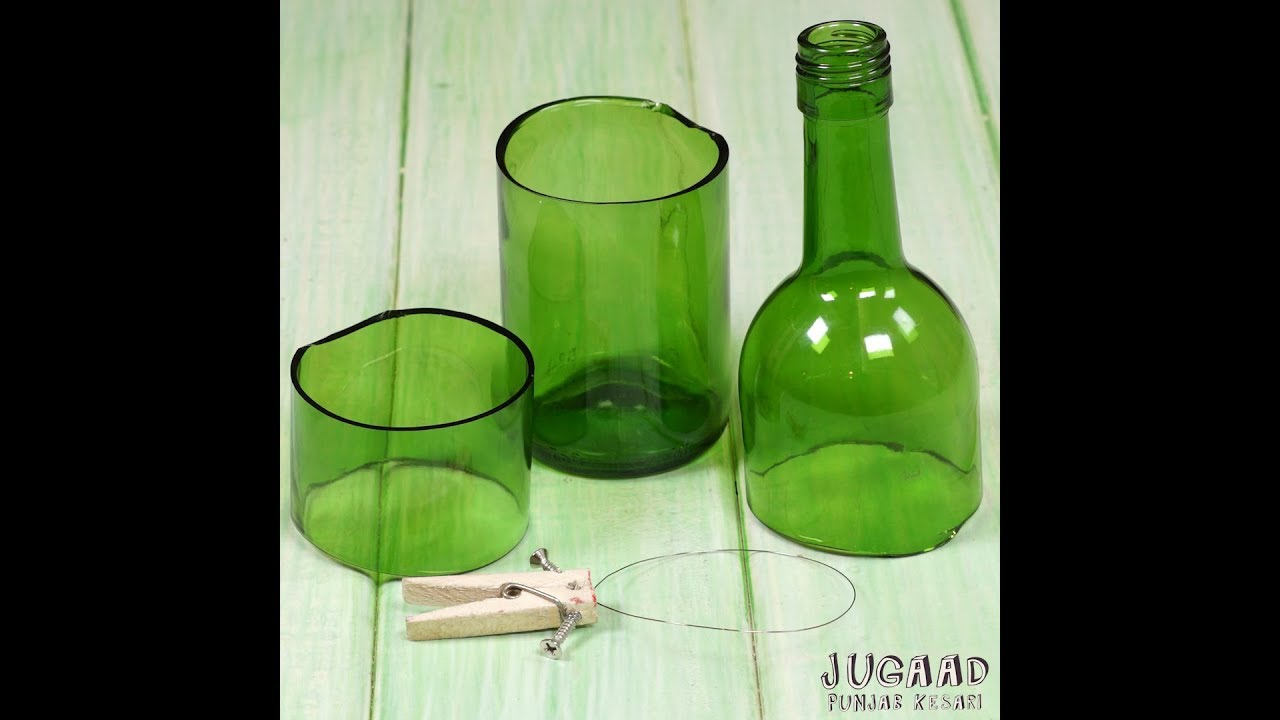 How to Cut Glass Bottle with a