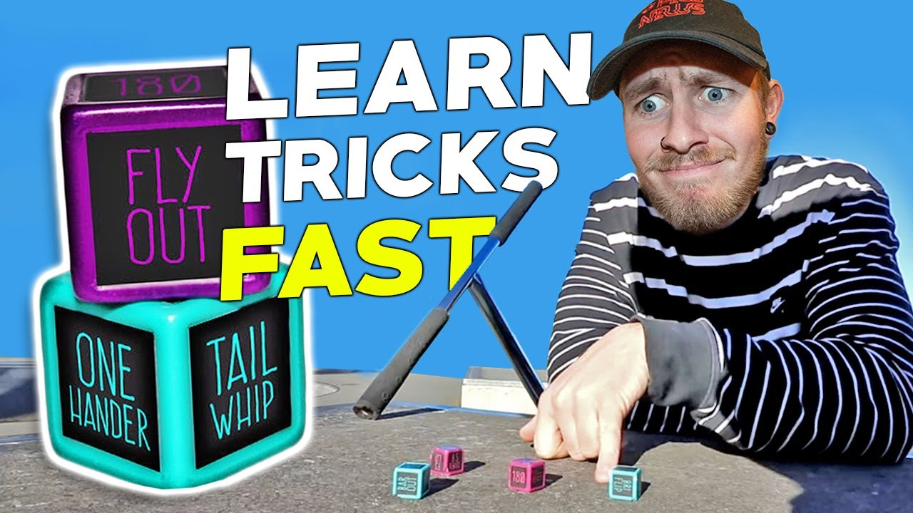 ADVANCED SCOOTER TRICK DICE Quick Trick Learning CHALLENGE