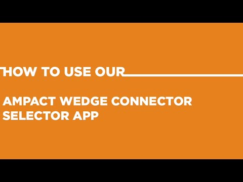 TE's AMPACT Wedge Connector Selector App