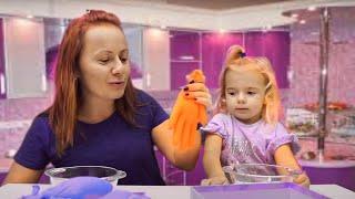 Facem Slime | Manusi cu Ingrediente pentru Slime | Anabella Show