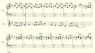 MLP:FIM - A True, True Friend - Piano + Violin Duet