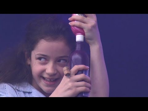 Abbie Vena performs 'Naughty' at West End Live 2017 - Day 1