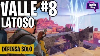 WALK THROUGH LATOSO VALLEY DEFENSE SHIELD 8 IN SOLO ? FORTNITE SAVE THE WORLD Spanish Gameplay
