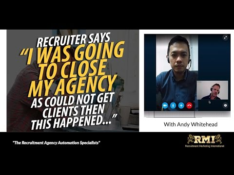 Recruitment Agency Owner Goes From Quitting To Hitting Best 12 Months Billing Ever