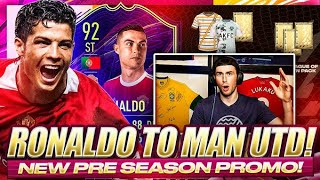 FIFA 22 PRE SEASON PROMO IS HERE! CR7 MANCHESTER UNITED ONES TO WATCH! FIFA 21 Ultimate Team