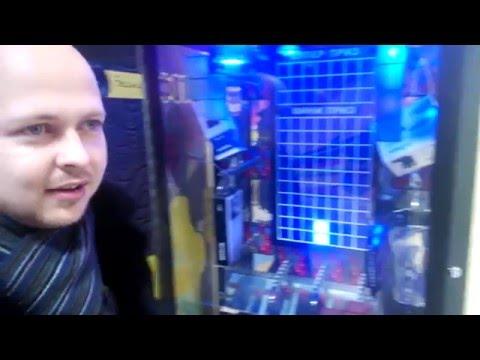 Игровой автомат Тетрис обман с Супер призом , Смотрим