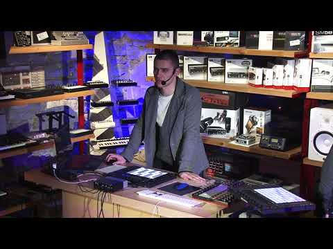 Ableton Live 10 Tallinn presentation live recording 01.02.2018 at Progear