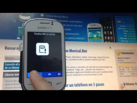 Liberar samsung rex 70 por c digo desbloqueo r pido y - Movical net liberar ...