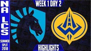 Video TL vs GGS Highlights | NA LCS Summer 2018 Week 1 Day 2 | Team Liquid vs Golden Guardians download MP3, 3GP, MP4, WEBM, AVI, FLV Juni 2018