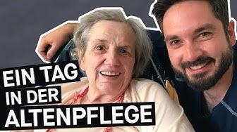 Alltag als Pfleger: Wie ist es, in der Altenpflege zu arbeiten?    PULS Reportage