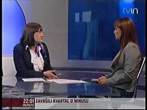 Direktorka korporativnih komunikacija Prve banke CG, Jelena Pavicevic, Inpuls.