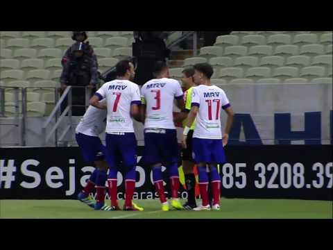 Melhores momentos de Ceará 1 x 0 Bahia - Campeonato Brasileiro Série B 2016
