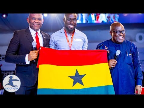 Ghanaian President Inspires Thousands of African Entrepreneurs in Nigeria