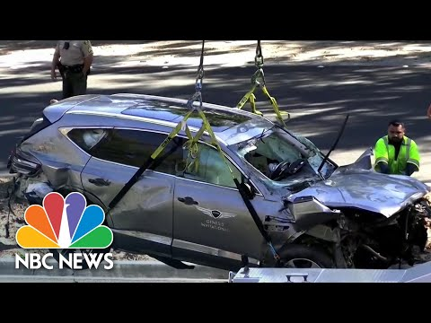 Sheriff Says Tiger Woods Was Driving Nearly Twice The Speed Limit Before Crash   NBC News NOW