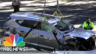 Sheriff Says Tiger Woods Was Driving Nearly Twice The Speed Limit Before Crash | NBC News NOW