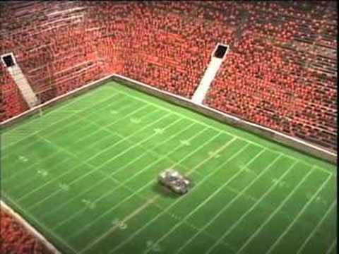Making The Football Field Set Youtube