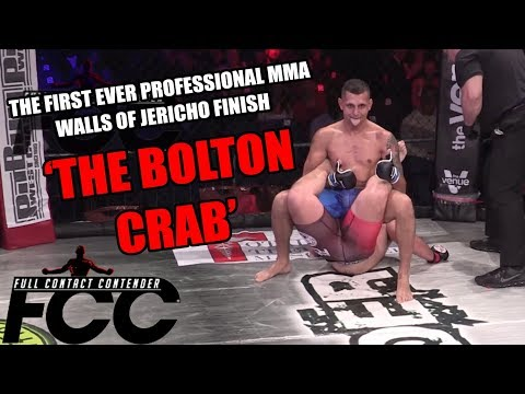 This MMA fighter winning with the Walls of Jericho is proof that wrestling is real, dammit