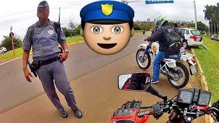 Policial Educado Elogiou Minha Moto #RD135Z e DT200 no Rolé