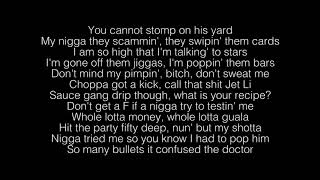 ... shotta flow lyrics: [intro] i wish everything touch would turn to gold nle, you heard me baby mexico choppa man, top