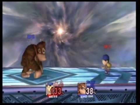 Super Smash Bros Brawl - Ness vs. Donkey Kong [007]