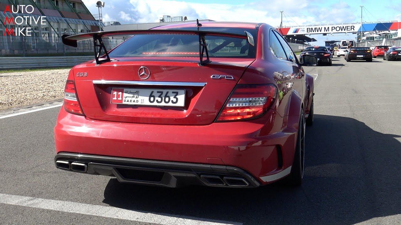 1100hp Mercedes C63 Amg Black Series By Gad Motors Youtube