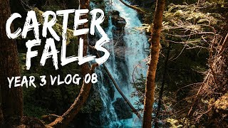 Hiking the Carter Falls Trail at Mount Rainier