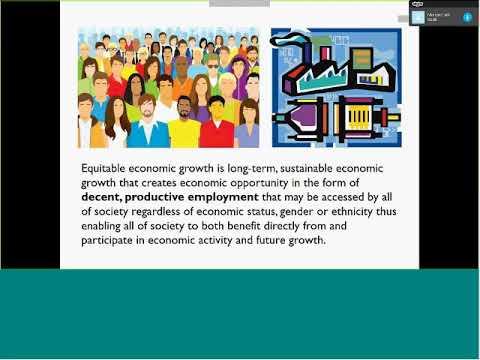 Cities Alliance: Webinar on Equitable Economic Growth City Diagnostics