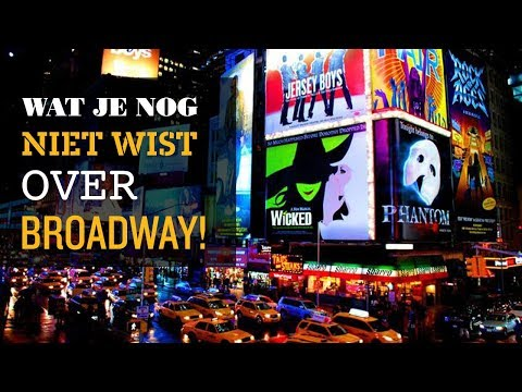 💛 Wat je nog niet wist over Broadway 🤘BE NY Minute