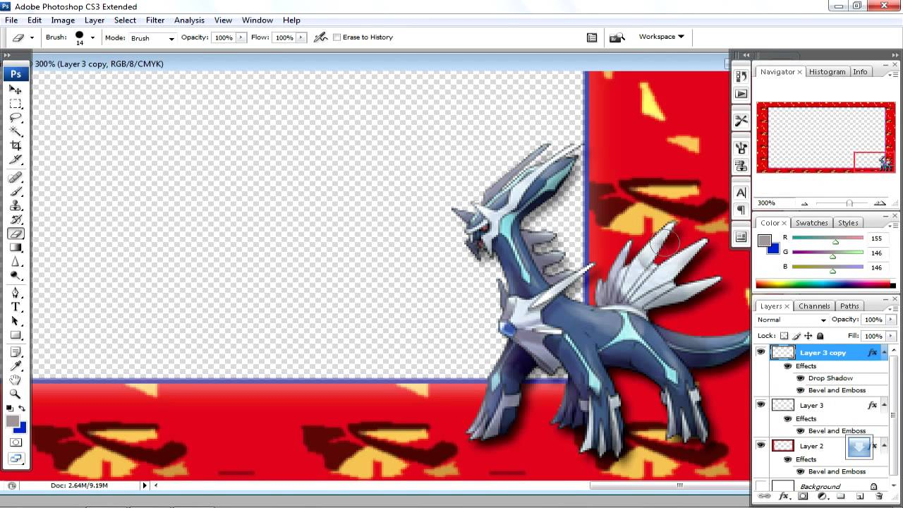 How to make a pokemon battle template - YouTube