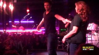Chuck Wicks Dances with KRTY Auction Winner