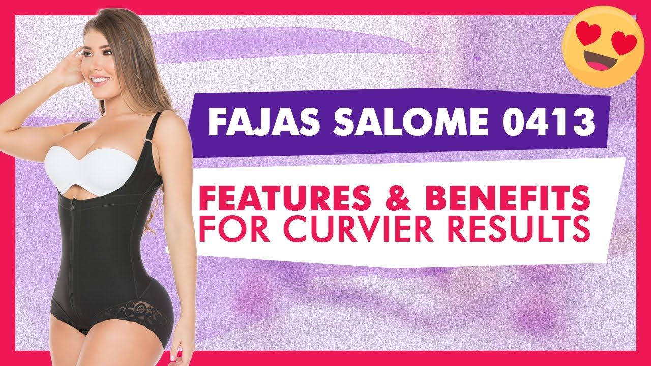 242060c5ed6d3 Fajas Salome 0413 Women s Shapewear - YouTube