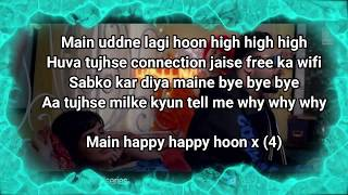 Happy Happy Song LYRICS Blackmail Irrfan Khan Badshah Aastha Gill