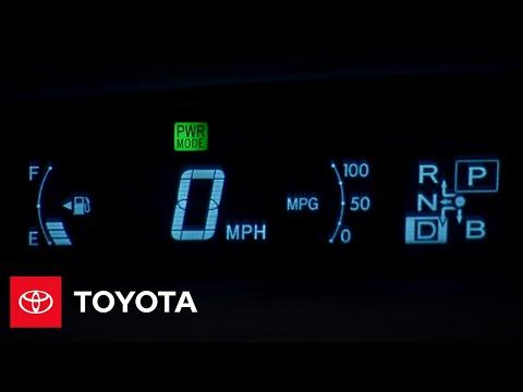 2010 Prius How-To: Instrument Panel | Toyota