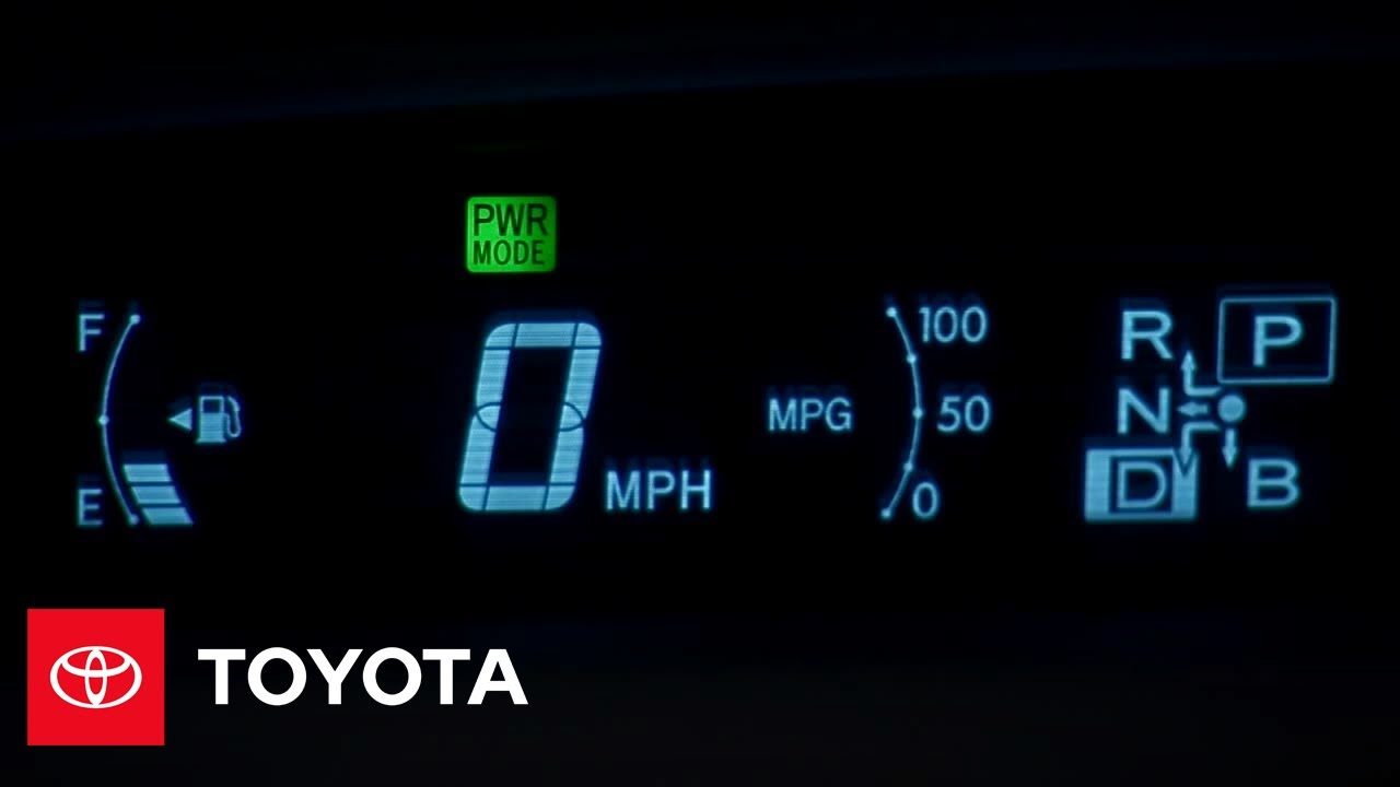 2010 Prius How To Instrument Panel Toyota Youtube