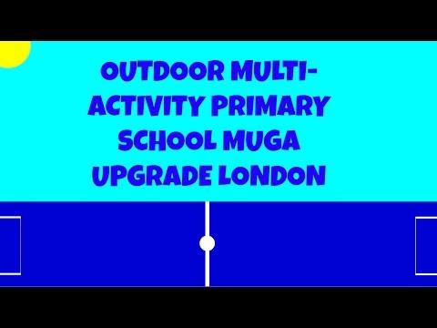 Outdoor Multi-Activity Primary School MUGA Upgrade London