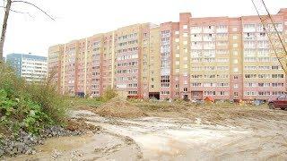 Незаконный слив бетона