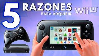 5 RAZONES para COMṖRAR una Wii U || Nintendo Wii U || Jugamer