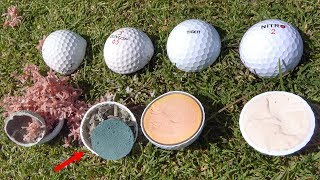 What's inside ILLEGAL Golf Balls?