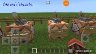 Minecraft PE Horror Sound (command block)
