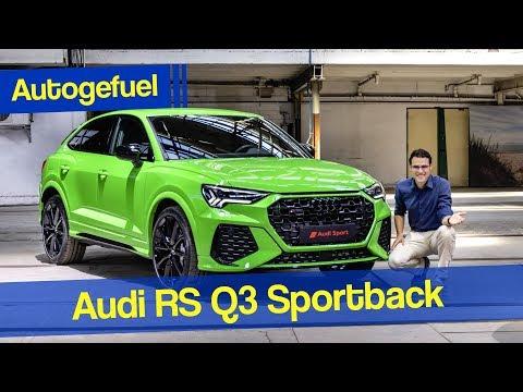 The small Lamborghini Urus! Audi RS Q3 Sportback vs RS Q3 SUV REVIEW 2020