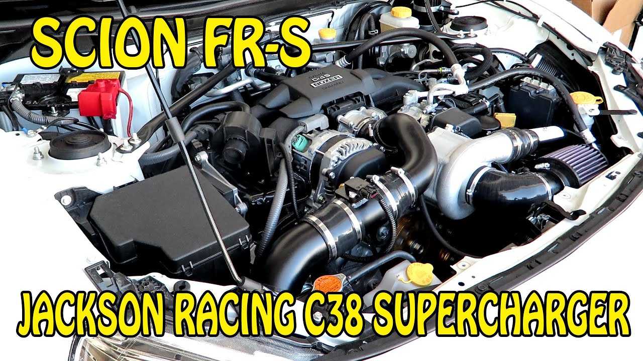 Fr s jackson racing c38 supercharger first time start up after install and moto east basic tune youtube