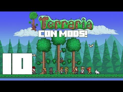 Terraria con MODS! Capitulo 10! EL GOBLIN!