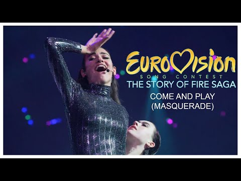 Eurovision Song Contest: The Story of Fire Saga - Come and Play (Masquerade) - Live Perfomance