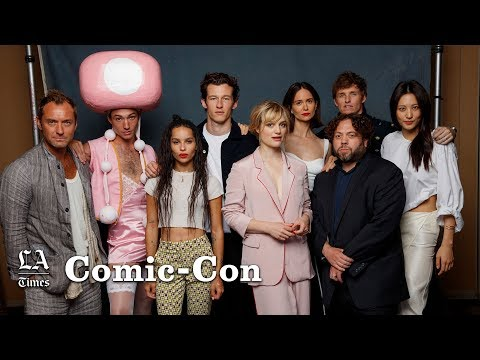 Jude Law has been preparing for his 'tastic Beasts' role for a decade  ComicCon 2018