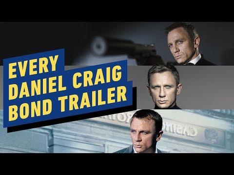 Every Daniel Craig Bond Trailer