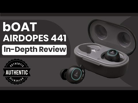 Best Earbuds with Great Look and Good Bass | bOAT  Airdopes 441 Unboxing & Detailed Review in Hindi