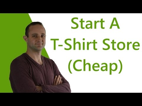 How to Start a T Shirt Business with Shopify