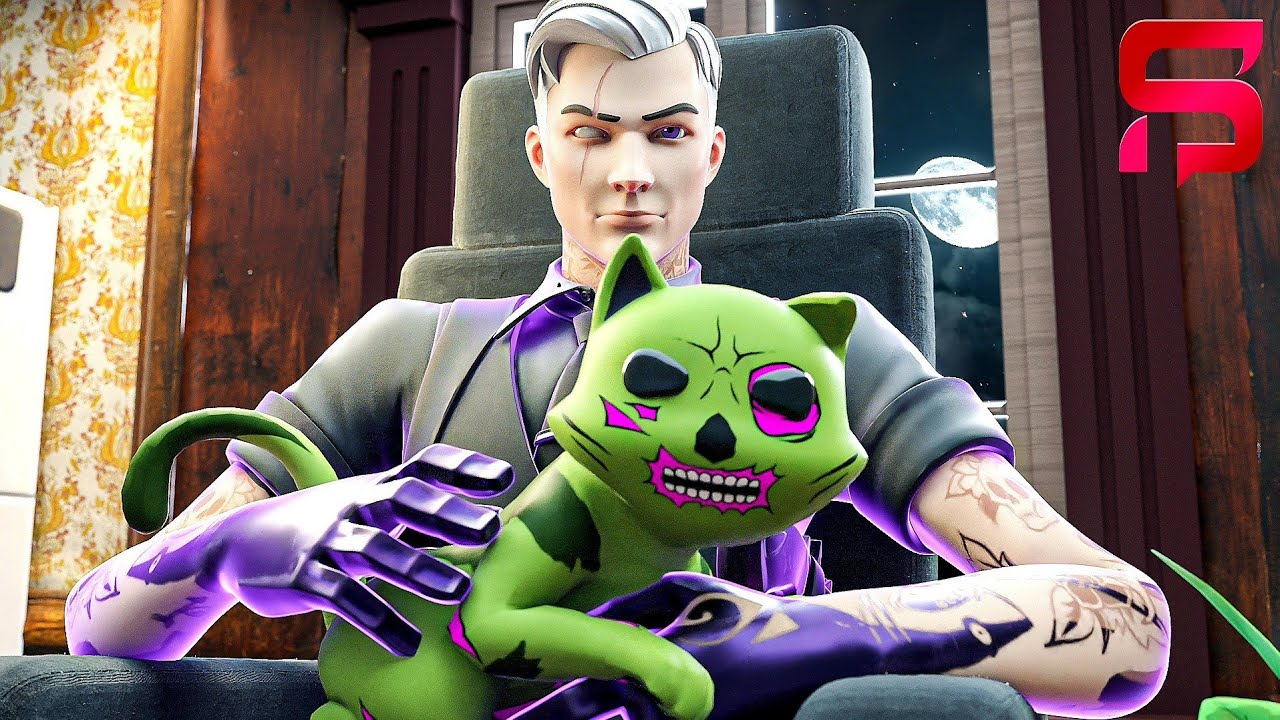 ZOMBIE KIT JOINS SHADOW MIDAS  ... ( Fortnite Short)