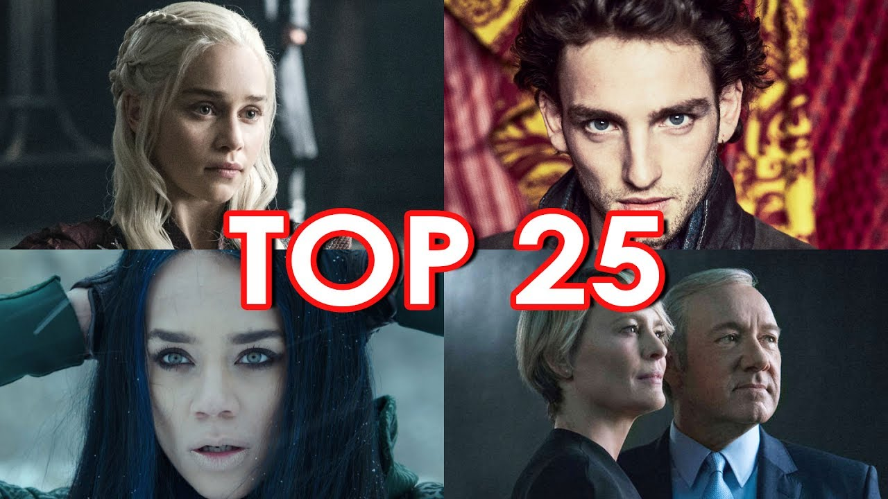 Top 25 Summer 2017 TV Shows - YouTube