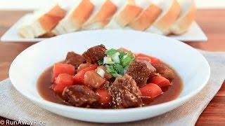 Slow Cooker Beef Stew (bo Kho)